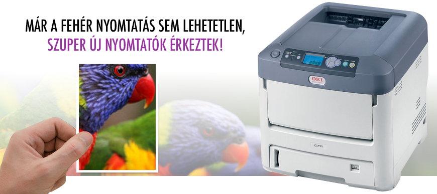 Megérkeztek az új nyomtató modellek