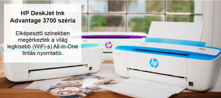 Színes HP nyomtatók