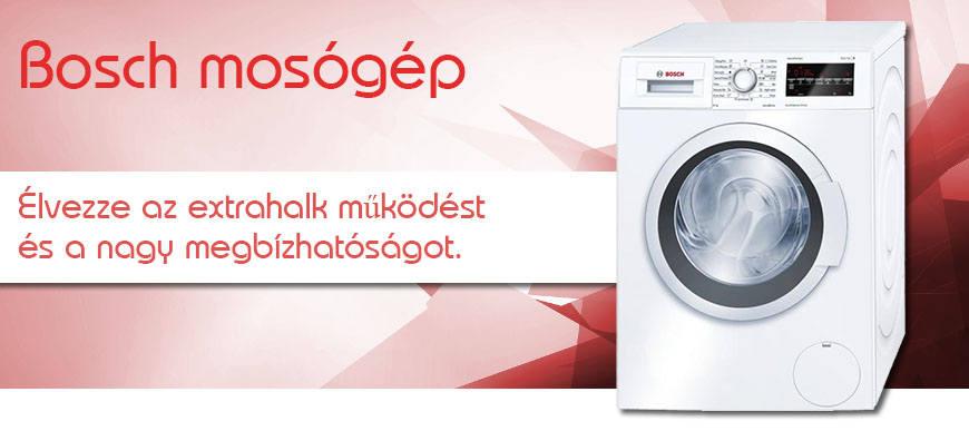 Bosch mosógépek ingyenes kiszállítással