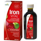 Hübner Iron Vital folyékony étrend-kiegészítő vassal és vitaminokkal 250 ml