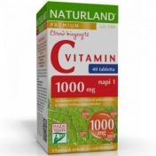 Naturland c-vitamin tabletta 1000MG [40 db]