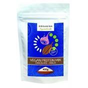 Organiqa bio fehérje mix csoki-maca 400 g