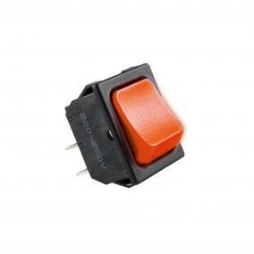 Világítós billenőkapcsoló, 250V, 2ák, piros [min: 5db]