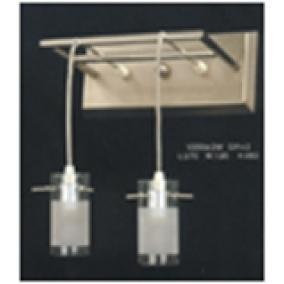 V2056/2W, modern fali lámpa 2xG9 230V