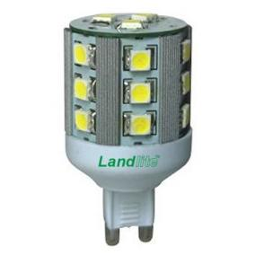 LED-G9-5W 230V melegfehér, LED izzó
