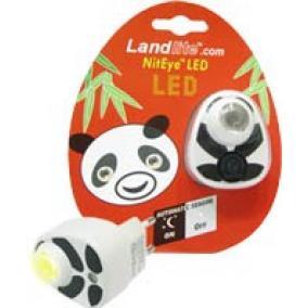 Panda LED-NL01 éjszakai lámpa sárga fényű