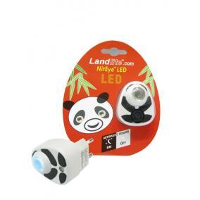 Panda LED-NL01 éjszakai lámpa kék fényű