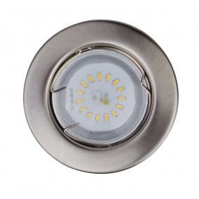 KIT-57A-3, 3db 1,5W GU10 230V fehér LED izzó, fix, beépíthető (3 db-os LED szett) króm