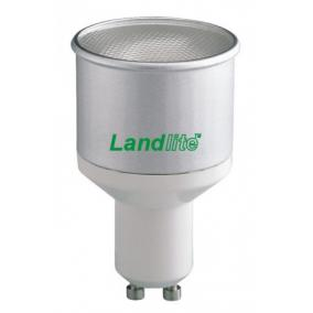 CFL-GU10-10W GU10 230V 8000óra, 2700K, kompakt fénycső (hosszabb, vékonyabb)
