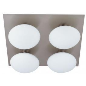 TRIVENI WL320-4R, 4x40W G9, IP44, matt króm, fürdőszobai lámpa