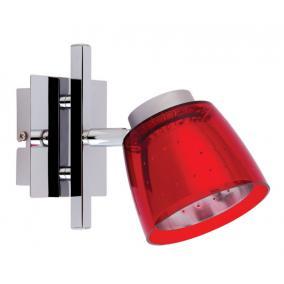 FELIX G929-1R falra szerelhető spot lámpa (piros), G9 foglalattal