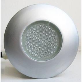 LED-GR91-3, 3x0,4W, 3db-os szett, trafóval, szín: szürke, IP68, süllyesztett, LED: kék