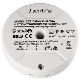 SET105R-1 Elektronikus transzformátor kisfeszültségű halogén lámpákhoz