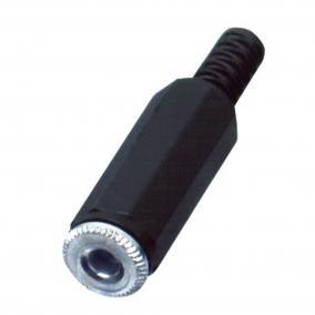 Jack aljzat, sztereó, lengő, 3,5mm