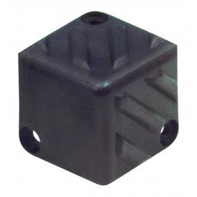 Hangfalsarok, müanyag, 40 x 40 x 40 mm