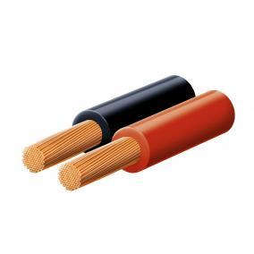 Hangszóróvezeték, piros-fekete, 2x1,5mm, 100m/tekercs [min: 100m]