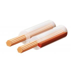 Hangszóróvezeték, transzparent, 2x0,75 mm, 100 m/tekercs [min: 100m]