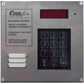 Kaputelefon, társasházi audio EVKT 800 központi egység