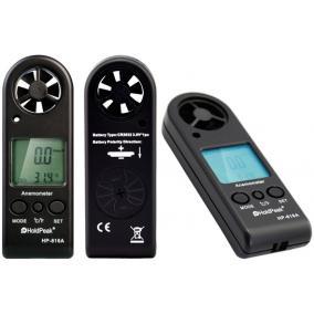 Digitális szélerősség és hőmérsékletmérő, Holdpeak 816A
