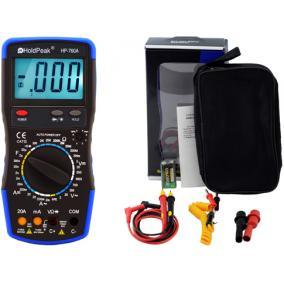 Digitális multiméter, Holdpeak 760A