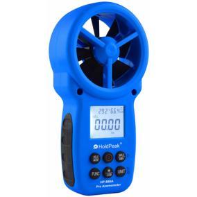 Digitális szélerősség és hőmérsékletmérő, Holdpeak 866A