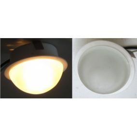 KIT-601-5, 5db JC-20W G4 12V fix, üveg bura, beépíthető szett (5 db-os halogén) fehér