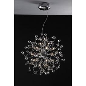 MONACO, MD2184/24, 24XG4 12V 10W halogén, króm, kristály lámpa