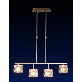 MW-5384/4H modern függesztett lámpa 4xG9 40W 230V