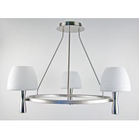 MW-5362/3C-S-C matt ezüst lámpa E14 foglalattal, max 60W