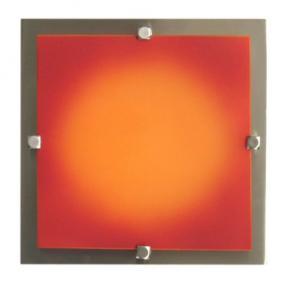 MELIA 23 cm 1xG9 40W 230V  Fali / mennyezeti lámpa - nikkel/színes üveg