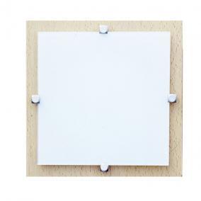 MELIA 23 cm 1xG9 40W 230V  Fali / mennyezeti lámpa - fa/fehér üveg