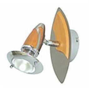 LANDIS LS-605-140 SN/B Spot lámpa 1xE14 40W 230V