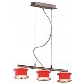 REFORMO P6026/3L piros, 3XG9 60W 230V, függeszték
