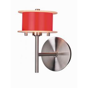 REFORMO W6026/1L piros, 1XG9 60W 230V, fali lámpa