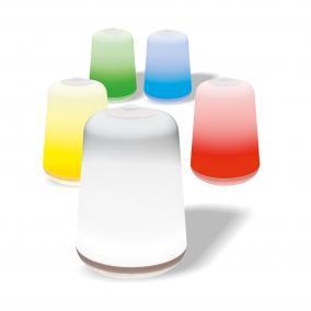 Színes LED asztali lámpa CL 5CL