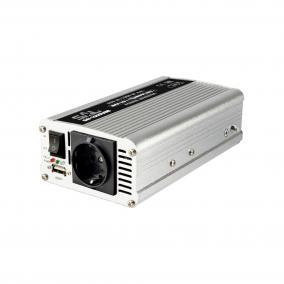 Feszültségátalakító, 500/1000W, USB aljzat