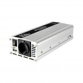Feszültségátalakító, 1000/2000W, USB aljzat