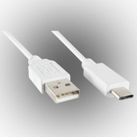 Töltőkábel, USB-A - USB-C