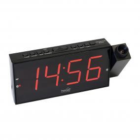 Digitális, LED ébresztőóra projektorral LTCP 01