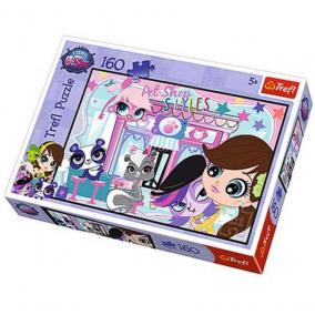 Littlest Pet Shop puzzle 160db-os