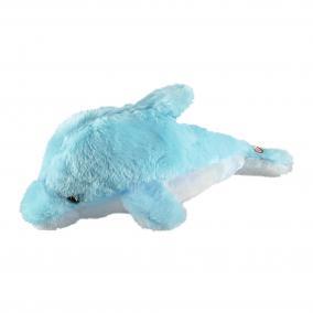 Plüssdelfin hangulatvilágítás, kék