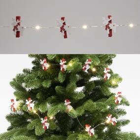 Micro LED-es rénszarvas fényfüzér, 20 LED