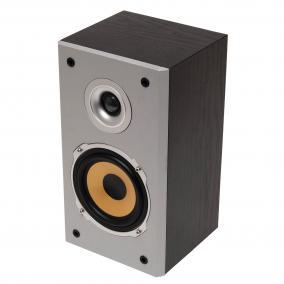 2-utas hangdoboz, fekete, 85 W, 1 db
