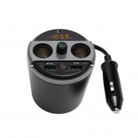 Multifunkciós autós töltő, kihangosító, FM-modulátor FMBT 16
