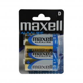 D elem, alkáli, 1,5V Maxell