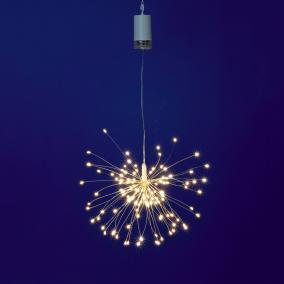 Micro LED-es tüzijáték dekoráció, távirányítóval