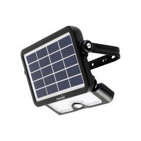 Szolár paneles LED reflektor PIR mozgásérzékelővel