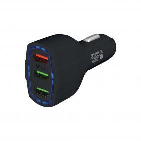 Autós USB töltő  Quick Charge funkcióval