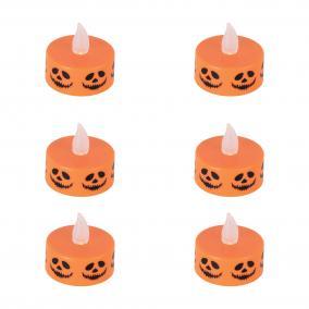 Halloween mécses szett 6db