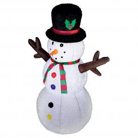 Felfújható hóember 120cm (plüss)